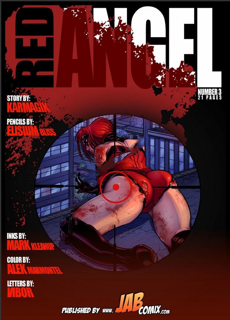 Red Angel 3 Jab Comix