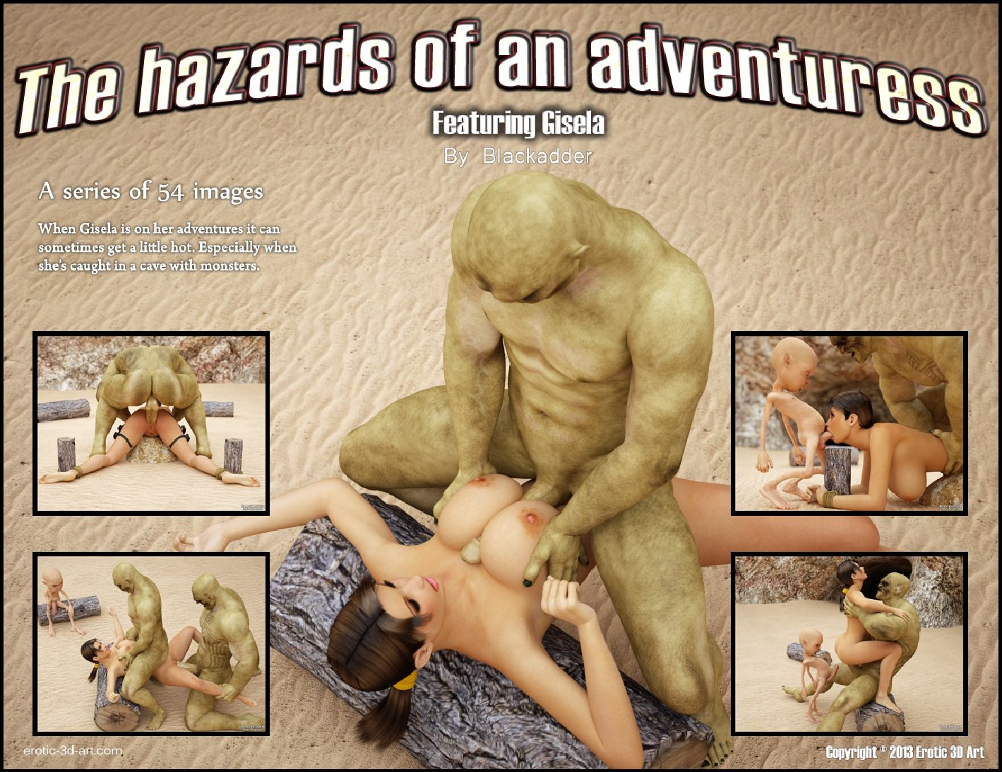 Blackadder - The Hazards of an Adventuress | Comics XD