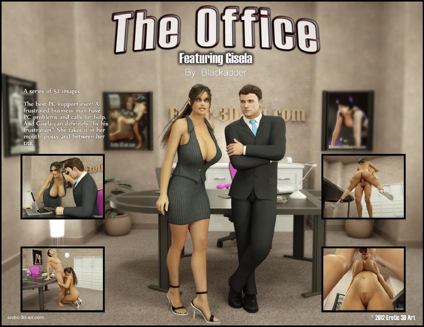The Office sex XXX ass