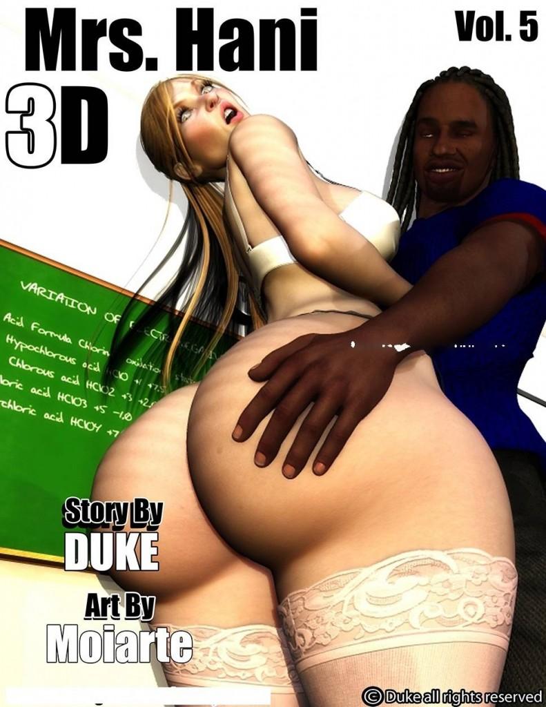 Mrs Hani 3D Interracial comics