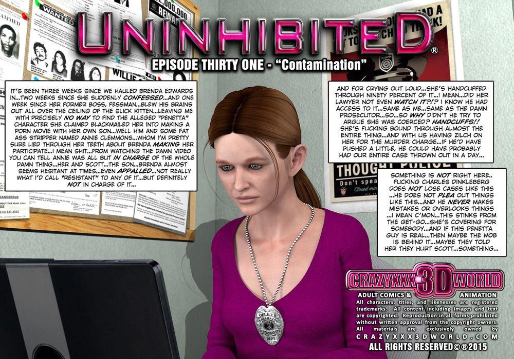 Crazy XXX 3D World - Uninhibited 31 | ComicsXD